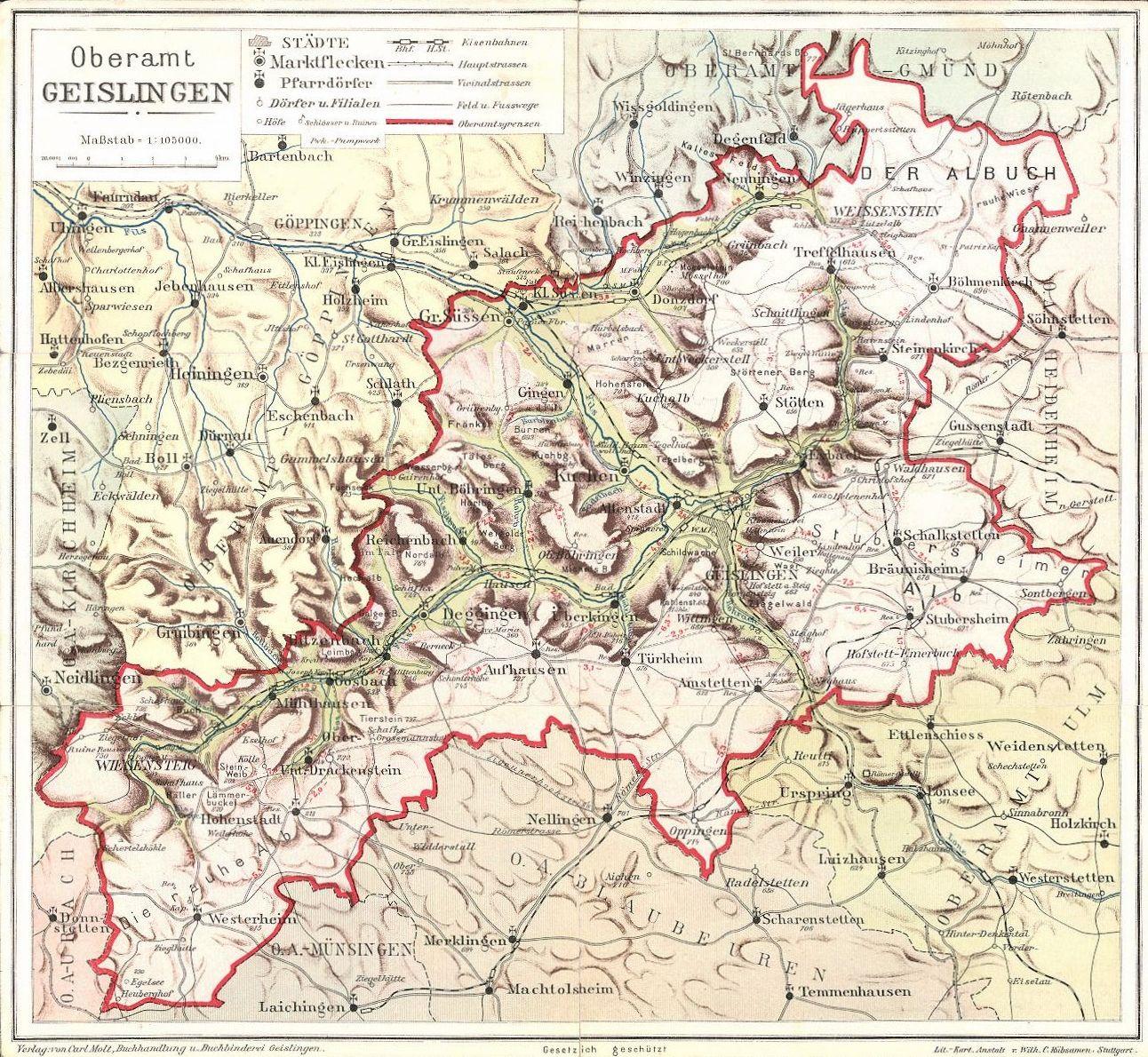 oberamt-geislingen-karte